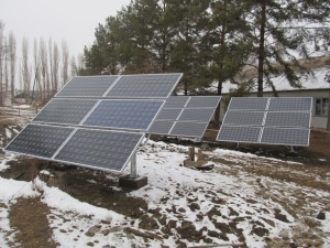 Rain or Shine, hot or cold, a PV array will produce free energy