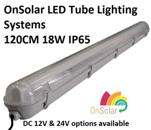 12V 4 foot LED Tube lighting