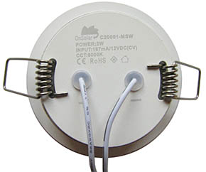 Dimmable 2W LED