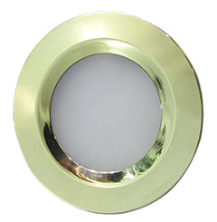 Gold Bezel 2W LED Downlight