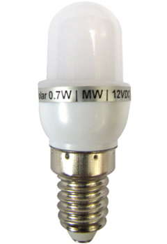 12V DC LED 0.7 Watt Candle